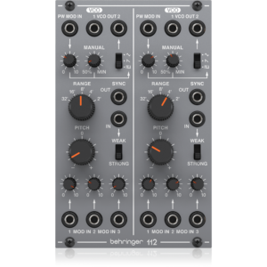 Behringer 112DUALVCO Analog Dual VCO Module w/ controls & switches